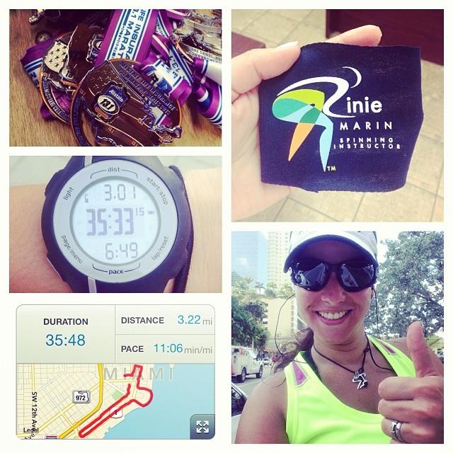 This is it!!! Next: Sunday, Nov 10 / 13.1 miles / Allstate Half Marathon!!!  #ofcourseyoucan 😎 (at Brickell Run)