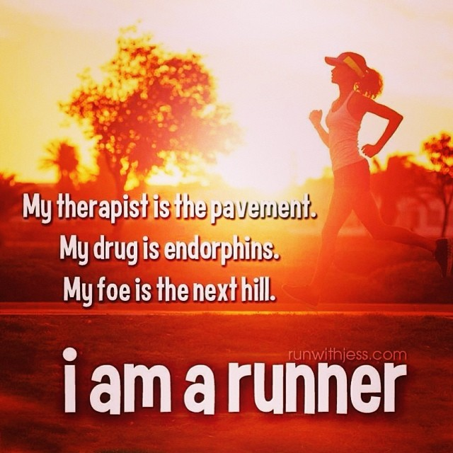 I'm OFFICIALLY a runner!!! Why? Because NOW I can't stop thinking about my next step!!!  (at Brickell Run)