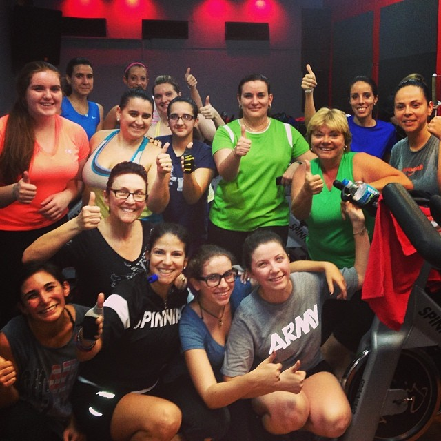 Amazing Class Ladies!!! Thank you so much for your energy!!!  www.redzonegables.com  😍😘😎#ofcourseyoucan   (at Red Zone Fitness)