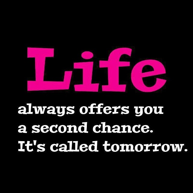 …and tomorrow is NOW!!! So… Take the opportunity every single day!!! 😎#ofcourseyoucan