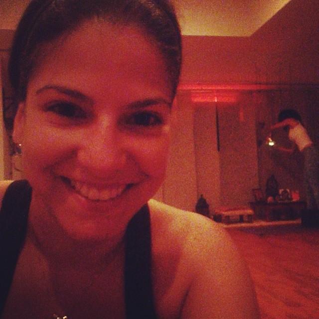 Hot Yoga!!! Probando algo nuevo 😁😊😎#ofcourseyoucan  (at Brickell Yogashala)