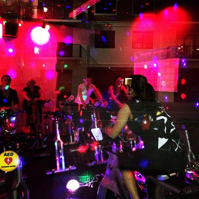Something different… Same Spinning Program!!! My Spinning Class at @redzonefitness 😎#ofcourseyoucan  www.redzonegables.com