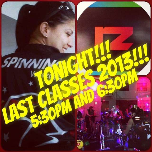 TONIGHT!!! Come and join me on the last classes for this YEAR!!! At 5:30pm AND 6:30pm We'll celebrating with great music!!! Lights!!! and the most amazing energy!!! At @redzonefitness   www.redzonegables.com  (at Red Zone Fitness)