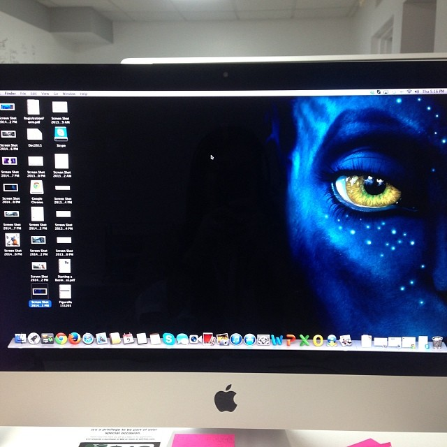The screen on my computer… Working in something!!! 😈😈😈!!! #riniemarin  😎#ofcourseyoucan May, 52014
