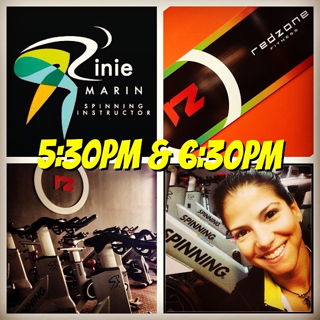 See you tonight!!! With a great energy, people & music at @redzonefitness  #riniemarin  #spinning #spinningmiami 😎 #ofcourseyoucan    (at Red Zone Fitness)