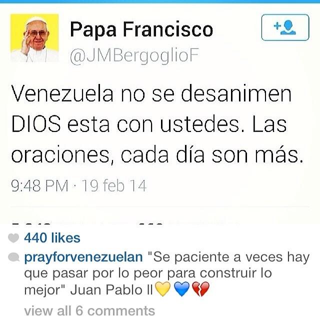 No te rindas!!! Haz luchado demasiado como para abandonar la batalla!!! #elquesecansapierde hay demasiafo heridos… Hay personas que han perdido sus vidas… Quienes han perdido su liberta y uno que la entrego por voluntad!!! Por ti!!! Por tu familia!!! Por ellos!!! Por Venezuela!!! NO TE RINDAS!!! EL QUE SE CANSA, PIERDE!!! #lasalida #llegolahora #laluchasigue #venezuelacomoteextrano #venezuelatequierolibre #comomeduelesvenezuela #soyvenezolano #sosvenezuela #prayforvenezuela #elquesecansapierde