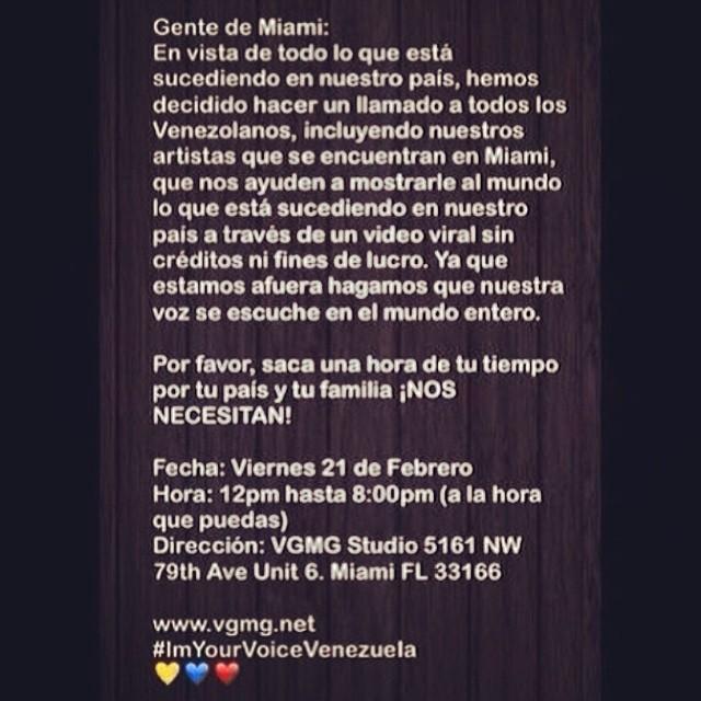 Vamos a aportar nuestro granito de arena!!!! #lasalida #llegolahora #laluchasigue #venezuelacomoteextrano #venezuelatequierolibre #comomeduelesvenezuela #elquesecansapierde #soyvenezolano #sosvenezuela #prayforvenezuela