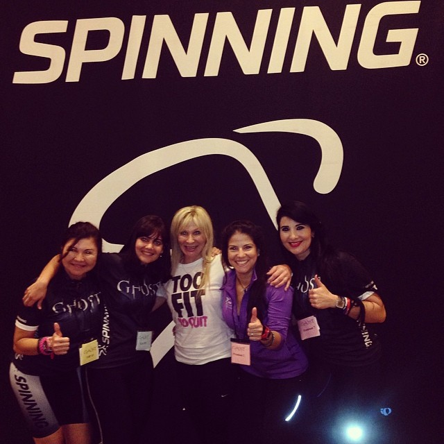 The Master Spinning Instructor from South Africa Elsa Storm!!! 😍😍😍 😎 #riniemarin #spinning #spinningmiami #ofcourseyoucan #keepgoing #run #running #runmiami #roadbike #roadbikemiami #bike #bikemiami #duathlon #triathlonrelay #wssc14 #wssc14 #wssc15th (at WSSC)