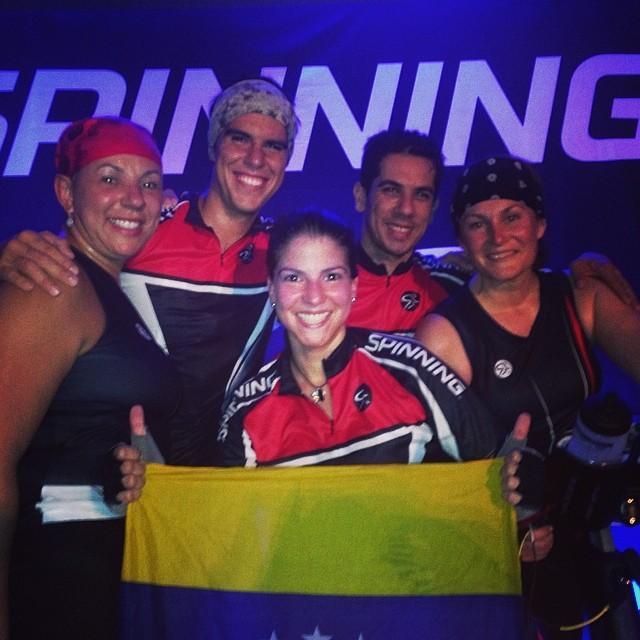 New York, Ecuador, Grecia, Ohio y  Venezuela 😎 #riniemarin #spinning #spinningmiami #ofcourseyoucan #keepgoing #run #running #runmiami #roadbike #roadbikemiami #bike #bikemiami #duathlon #triathlonrelay #wssc14 #wssc14 #wssc15th (at WSSC)