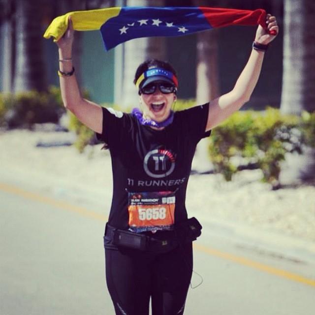 ING Miami FULL Marathon / Feb, 22014 / Miles 25 #riniemarin #spinning #soyvenezolano #spinningmiami #ofcourseyoucan