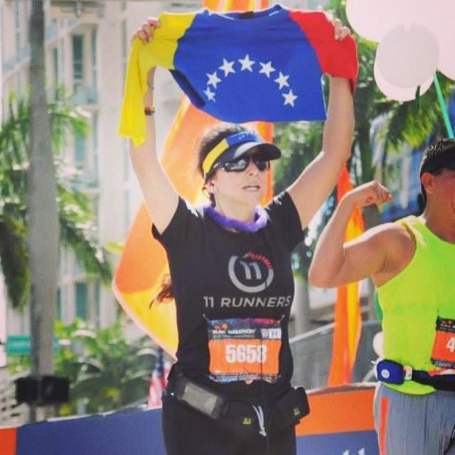 ING Miami FULL Marathon / Feb, 22014 / Miles 26.2 #riniemarin #spinning #soyvenezolano #spinningmiami #ofcourseyoucan