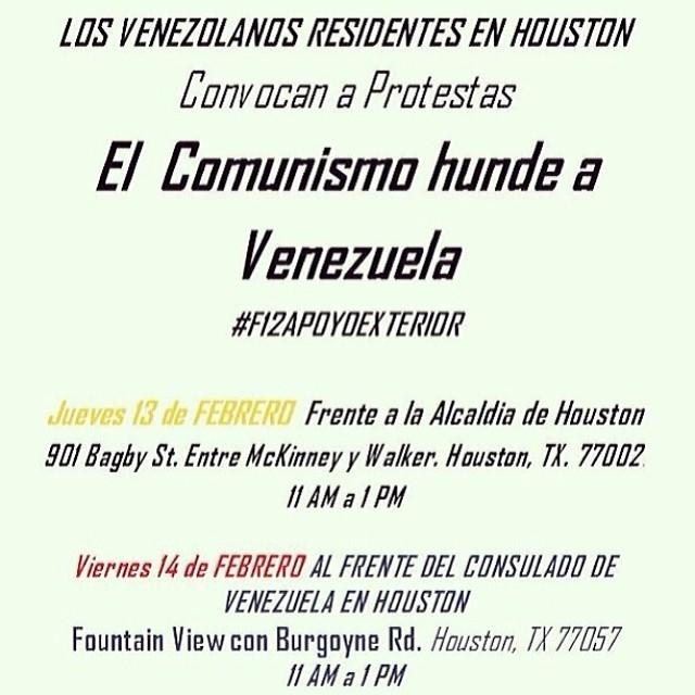 Apoyo a Venezuela