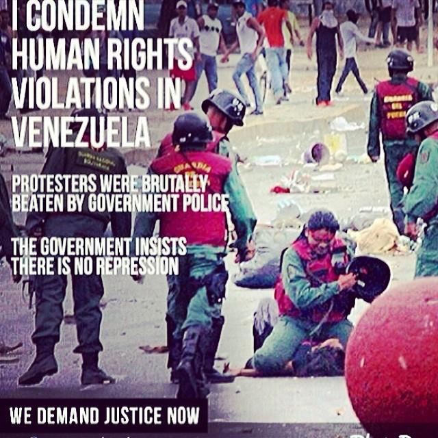 We demand justice NOW!!! Not later… Not tomorrow… NOW!!! #sosvenezuela #prayforvenezuela #lasalida #llegolahora #laluchasigue #venezuelasomostodos #venezuelacomoteextrano #venezuelatequierolibre #comomeduelesvenezuela #27f #fuerzavenezuela #resistenciavenezuela #resistencia #elquesecansapierde @venezolanosenmiami @venezuelalucha @venezuelaxti @leopoldolopez @liliantintori @mariacorinamachado