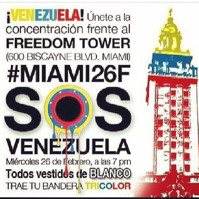 Nos vemos allá!!! #lasalida #llegolahora #laluchasigue #venezuelasomostodos #venezuelacomoteextrano #venezuelatequierolibre #comomeduelesvenezuela #soyvenezolano #soytuvozvenezuela #somostuvozvenezuela #somostuvozvenezuela #fuerzavenezuela #resistencia #elquesecansapierde