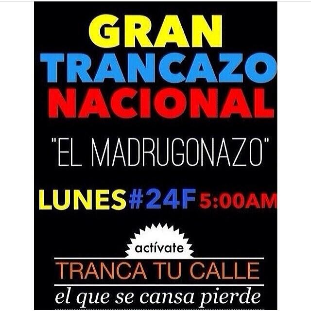 No te rindas!!! No te dejes vencer!!! Todo tu esfuerzo cada vez se hace sentir mas y mas a nivel mundial!!! Sigue en la calle!!! Porque es tuya!!! Porque es para ti!!! EL QUE SE CANSA PIERDE y es hora de GANAR!!! #lasalida #llegolahora #laluchasigue #venezuelacomoteextrano #venezuelatequierolibre #comomeduelesvenezuela #soyvenezolano #soytuvozvenezuela #somostuvozvenezuela #sosvenezuela #prayforvenezuela #elquesecansapierde #24f #bastaya @leopoldolopez @liliantintori @mariacorinamachado @rodnerfigueroa @cnnespanol @venezolanosenmiami @venezuelalucha @sosvenezuelainfo