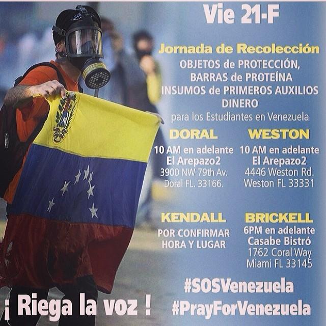 Ayudanos a ayudarlos!!! Debemos darle nuestro apoyo!!! QUE SE NECESITA??? En la próxima foto!!!! #lasalida #llegolahora #laluchasigue #venezuelacomoteextrano #venezuelatequierolibre #comomeduelesvenezuela #soyvenezolano #sosvenezuela #prayforvenezuela #elquesecansapierde NO TE RINDAS!!!