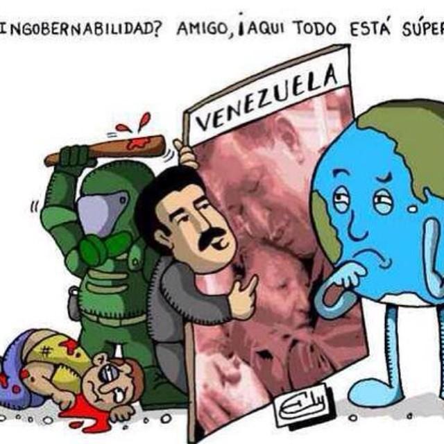 Mas claro? O te busco un pizarra?  Nuestra ayuda y apoyo es en la calle!!! Que el mundo se entre que Venezuela sigue luchando por su libertad!!! La de los prisioneros!!! Y por la justicia de quienes murieron por ella!!! PA LA CALLE!!! Bayfront Park 7pm @rodnerfigueroa #lasalida #llegolahora #laluchasigue #venezuelacomoteextrano #venezuelatequierolibre #comomeduelesvenezuela #18f #soyvenezolano #sosvenezuela #prayforvenezuela