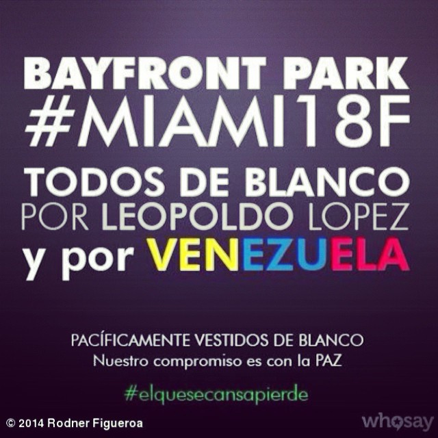 Vamos todos!!! @venezuelalucha #lasalida #llegolahora #laluchasigue #venezuelacomoteextrano #venezuelatequierolibre #comomeduelesvenezuela #18f #sosvenezuela #soyvenezolano #prayforvenezuela @venezolanosenmiami @venezuelalucha @venezuelalucha #lasalida #llegolahora #laluchasigue #venezuelacomoteextrano #venezuelatequierolibre #comomeduelesvenezuela #18f #sosvenezuela #soyvenezolano #prayforvenezuela @venezolanosenmiami @venezuelalucha