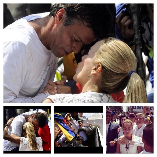 Que alguien se niegue a decir que esto no es valentía!!! Dios protejelo por favor!!! Se esta entregando a un régimen totalmente comunista por VENEZUELA!!! Venezuela y Leopoldo nos necesita ahora!!!! AHORA!!! No mañana AHORA!!! #lasalida #llegolahora #laluchasigue #venezuelacomoteextrano #venezuelatequierolibre #comomeduelesvenezuela #18f #sosvenezuela #soyvenezolano #prayforvenezuela