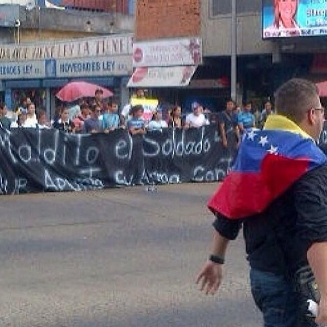 Maturin presente!!! #14f   #13f #12f #2f #lasalida #llegolahora #laluchasigue #venezuelatequierolibre #venezurlacomoteextrano #sosvenezuela #soyvenezolano #prayforvenezuela