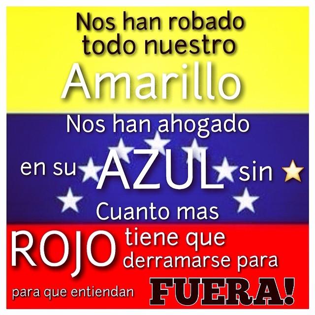Esta fueron mis palabras en la pancarta que llevaba cuando marchaba hace 11 años en el paro petrolero… Y las vuelvo a usar!!! Ahora mas que nunca debemos estar unidos sea donde sea que estemos!!! El mundo tiene que enterarse de la verdad y Dios tiene que escuchar nuestras peticiones!!! Ya basta!!! #2f #12f #lasalida #llegolahora #soyvenezolano #venezuelateextrano #venezuelatequierolibre @venezolanosenmiami @liliantintori
