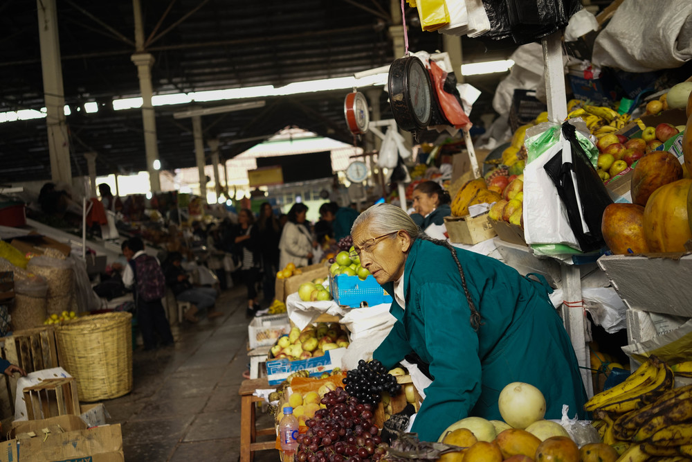 San Pedro Market.Cusco, Peru.November 2014