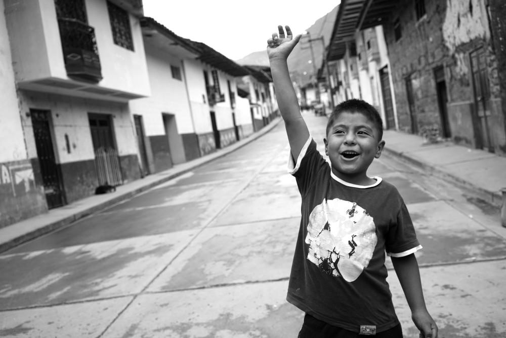 Winning. Leymebamba, Amazonas, Peru. November 2015