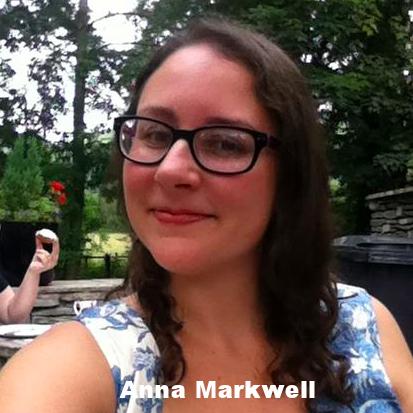 Anna Markwell   Anna is åsåm.   annamarkwell.com    @AnnaMarkwell