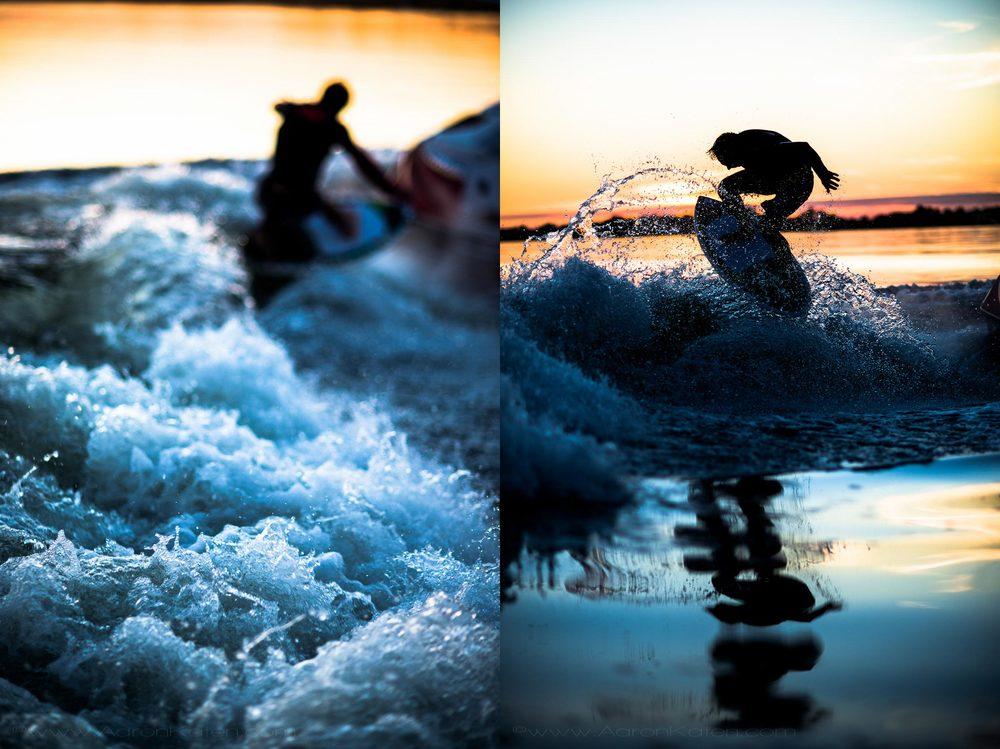 Tommy Czschin Wakesurfing