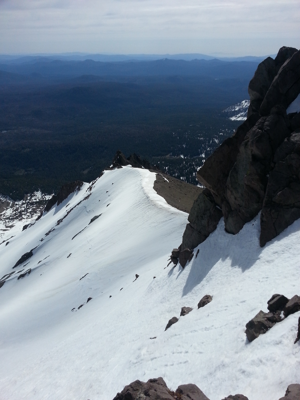On Mount Lassen