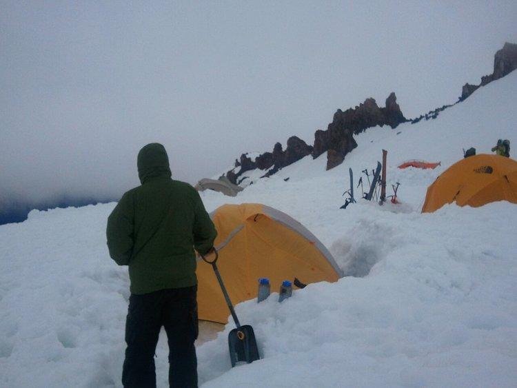 Helen Lake basecamp 10,400'