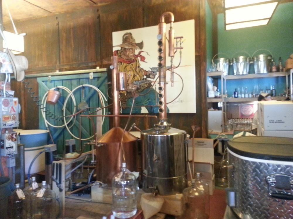 Two Guns Distillery, Leadville, CO