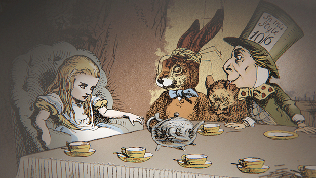 Image: BBC TWO's programme on Lewis Carroll