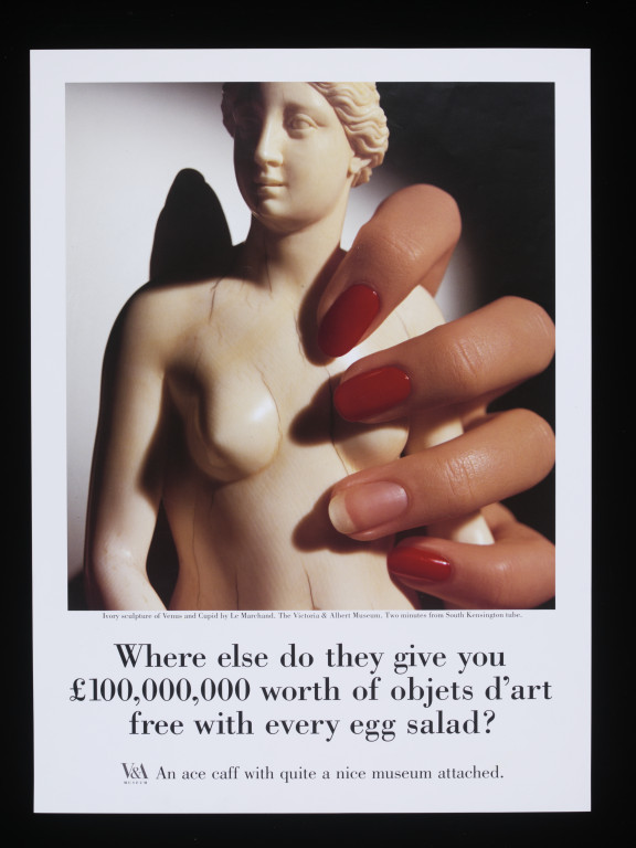 Saatchi & Saatchi ad for the V&A