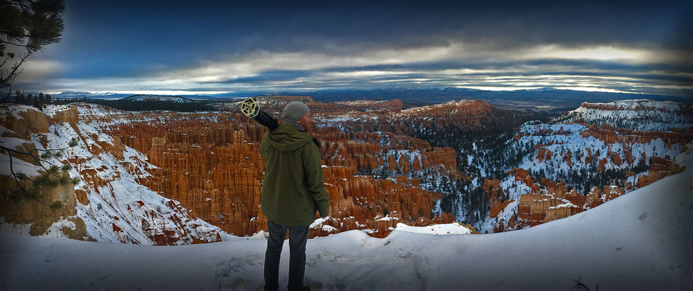 James at Bryce Canyon, Utah 2017