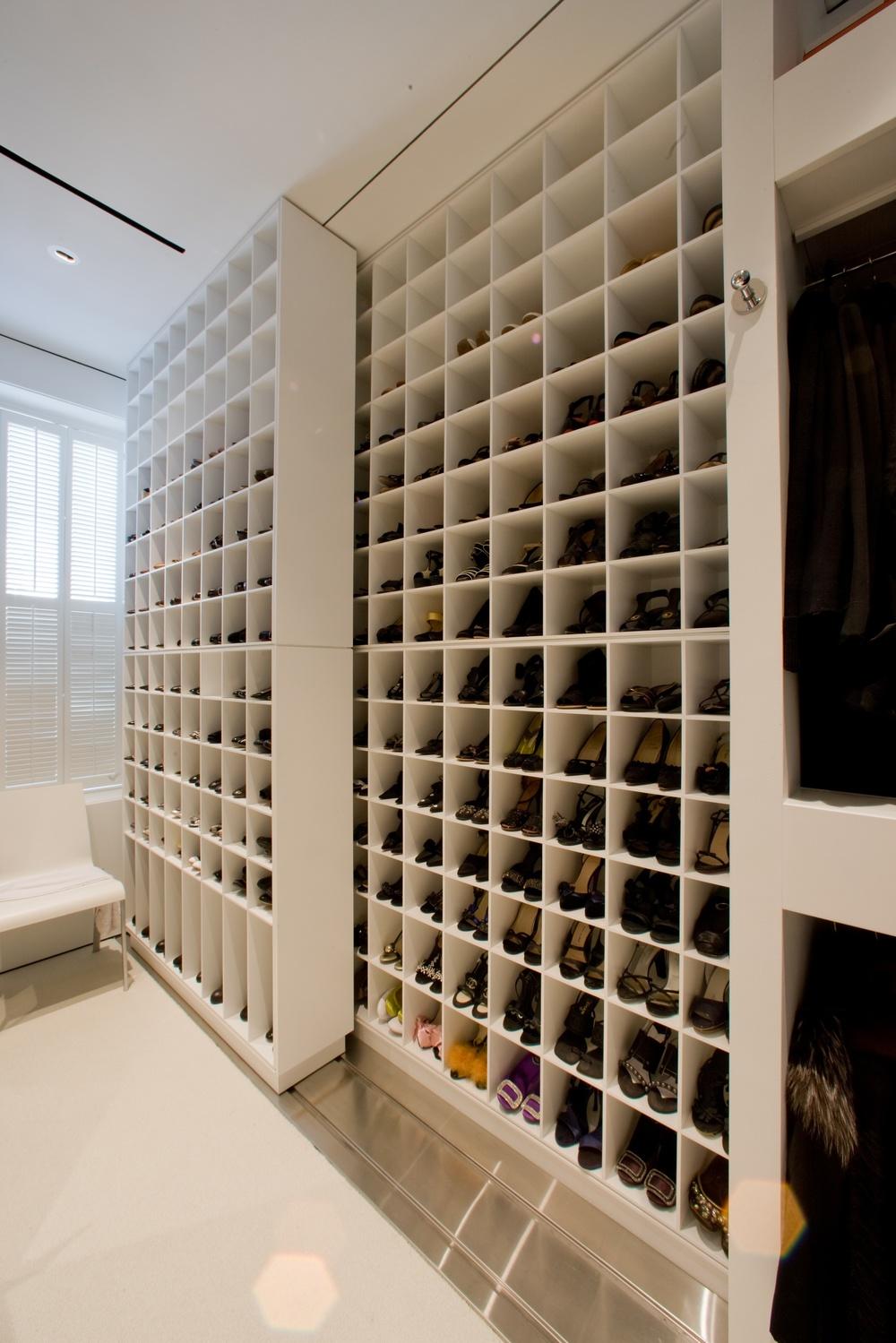 Master closet.