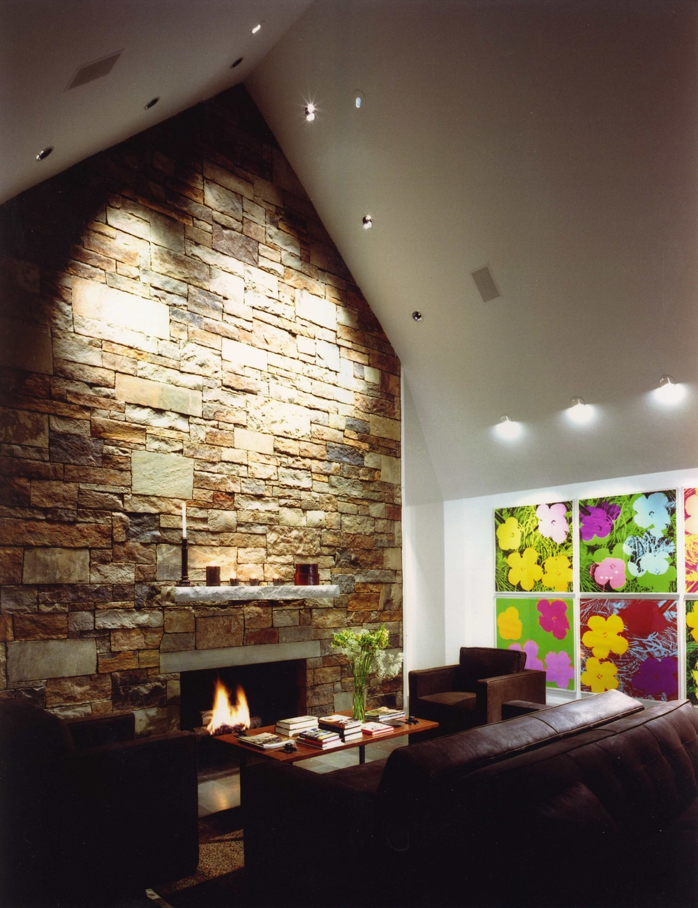 Local stone, glass and Andy Warhol.