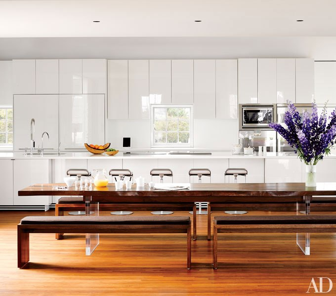 Lunch for 22 will do in this custom Jacobsen kitchen in Nantucket.