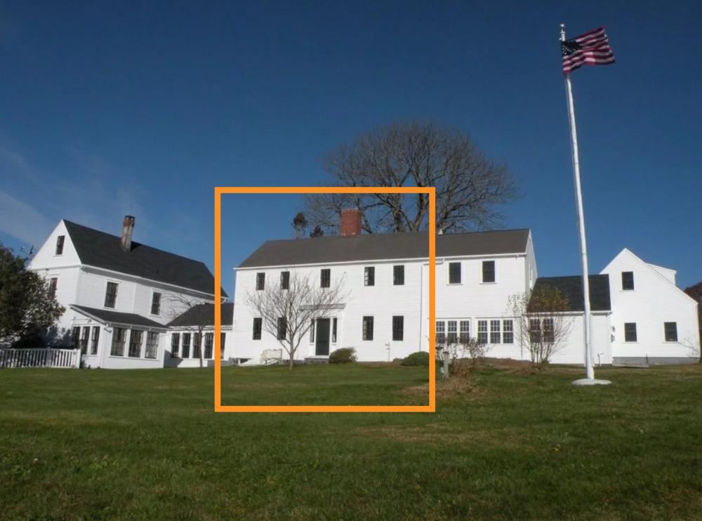 The original Bray house.