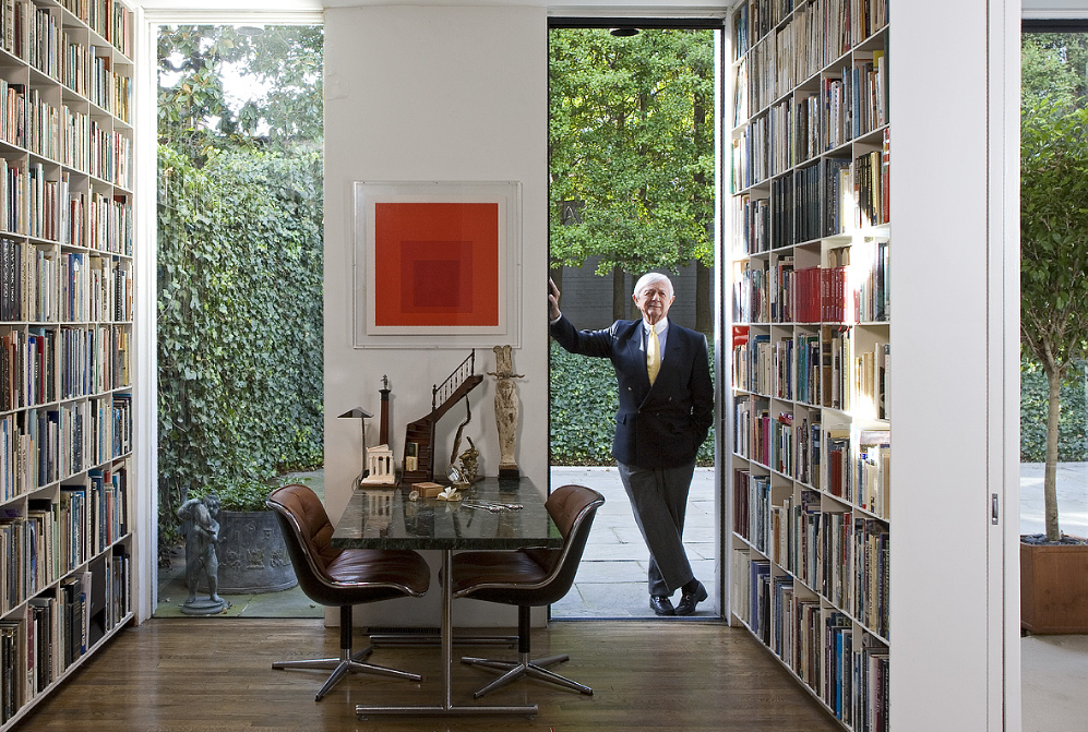 The Washington Post writes a nice story about Hugh Newell Jacobsen returning to the first house he ever designed. - Click here for the article.