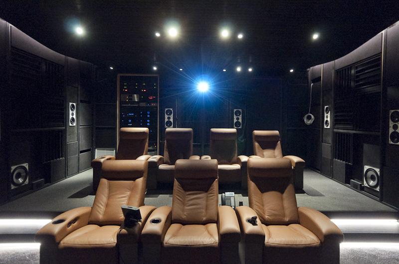 Residential Theater in Telluride, Co.