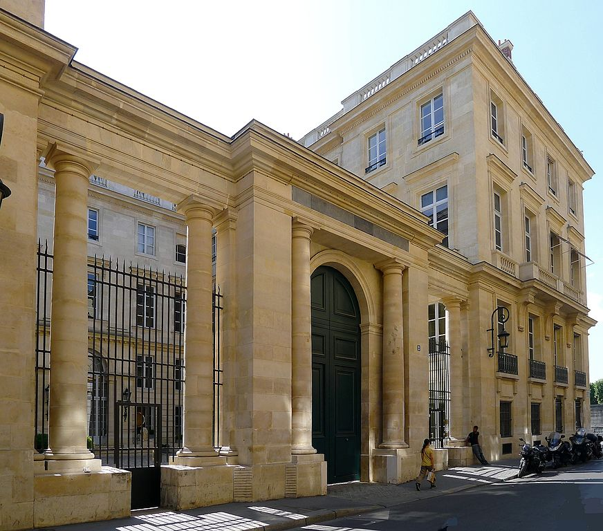 The renovation of Le Hotel Tallyrand, Paris, France, 1984  Restoration of the 18th century Hotel Talleyrand began in 1980.  The aim of the renovation was to provide efficient, modern, flexible office and gallery spaces while retaining the historic fabric of the structure. The final design met the building's program requirements, preserving 6,000 square feet for museum and exhibit space and maintaing relative invisibility for the 20th-century infrastructure essential to the building's modern use. Since seven of the Hotel Talleyrand's eight facades are under the control of the Historic Monuments Commission of the city of Paris, any exterior modification had to be approved. Interior renovation required a review by the U.S. Department of State's Office of Foreign Buildings. A monument to 18th-century French architecture, the Hotel Talleyrand overlooks the Place de la Concorde and was built in 1767 after a design by Ange-Jacques Gabriel, architect to Louis XV. The interiors were designed by Jean-Francois Chalgrin. The building was the principal residence of Charles Maurice de Talleyrand, famous for his role in late 18th and early 19th century French politics, primarily the rise and fall of Napoleon. From Talleyrand's death in 1838 until renovation began in 1980, this60,000 square-foot incursions, and defilements, variously serving as a Belle Epoch residence, as a World War I hospital, as a German naval office during the Second World War, and as headquarters for the U.S. Marshall Plan in the 1950s. It now serves as an important part of the United States Embassy in Paris.   Winner:    Architectural Digest   Published:  Architectural Digest,  Nov, 1984: 190-198;  Connoisseaur , Nov, 1984: 38/Jan 1987;  Le Figaro , Sept. 11, 1984;  Preservation News , June 1985: 13;  State , June 1981: 28;  USIA World,  Feb 1985: 6-7  Project Architect: Paul Roddick  Architectural photography: Robert C. Lautman