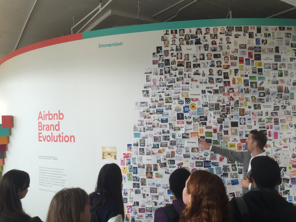 Airbnb Graphic Design Lead Tim Belonax walks the class through the Airbnb rebrand story