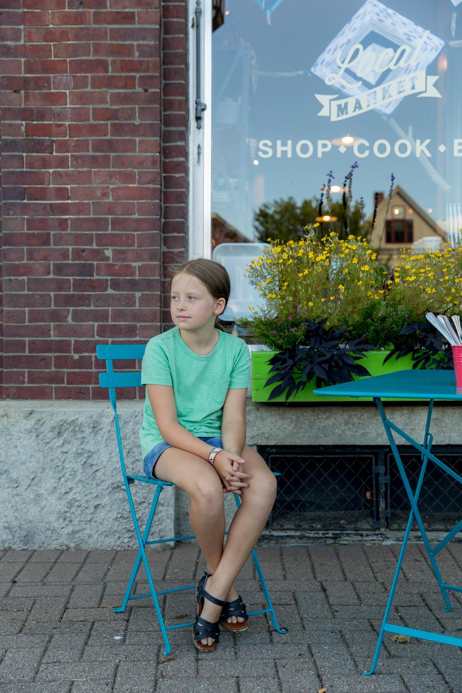 Local. Brunswick, Maine. August 2016