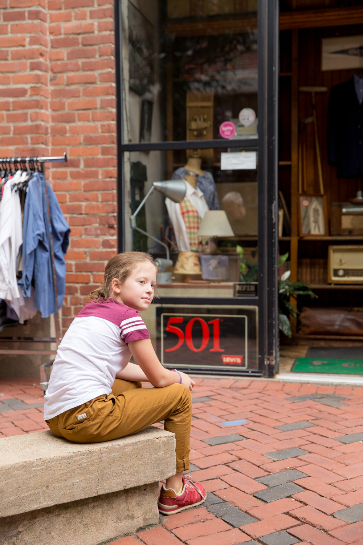 Thayer Street, Boston, MA. October 2016