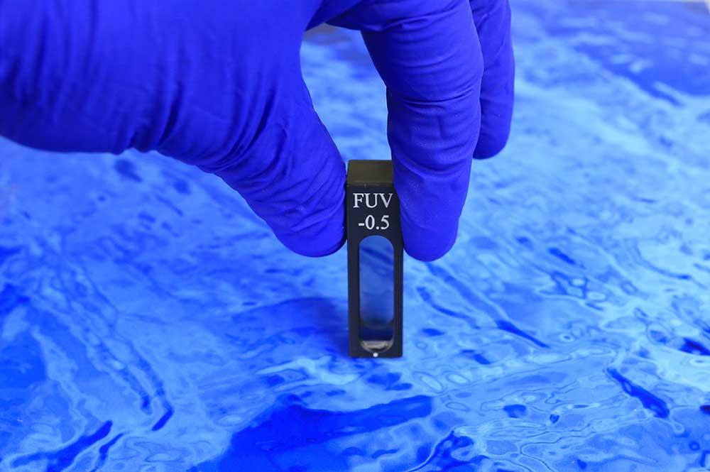 Proper way to handle UV Calibration Filter