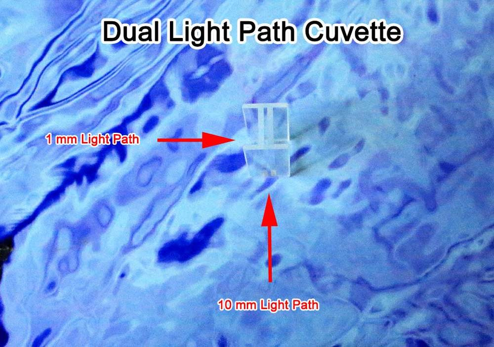 dual cuvette path length