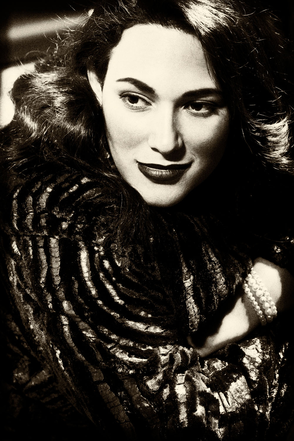 Naomi 1930s with fur_BW.jpg