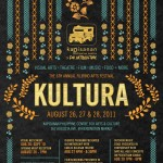 Event poster for Kultura 2011, August 26-28 at 167 Augusta Avenue