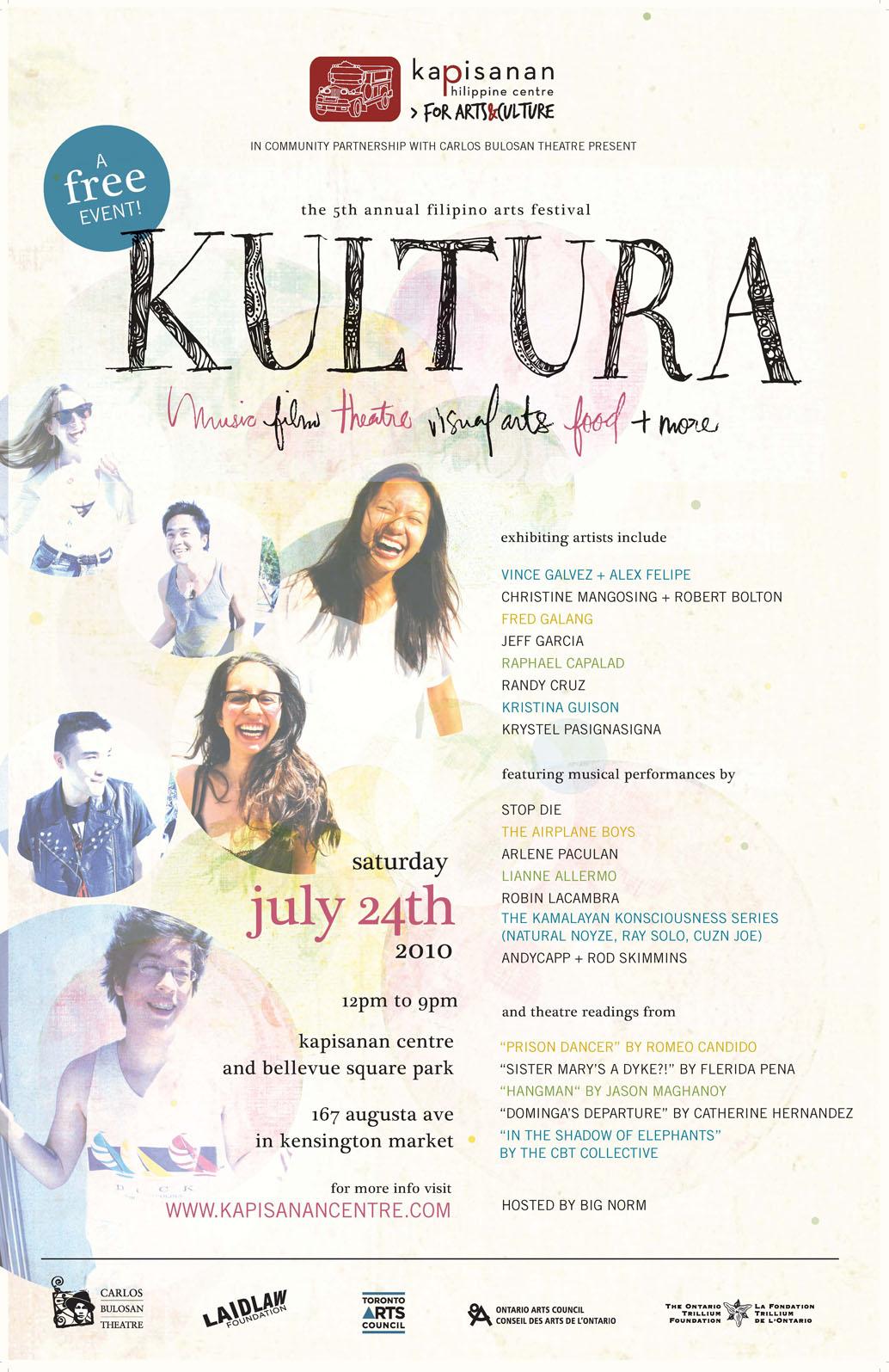Kapisanan presents: Kultura 2010